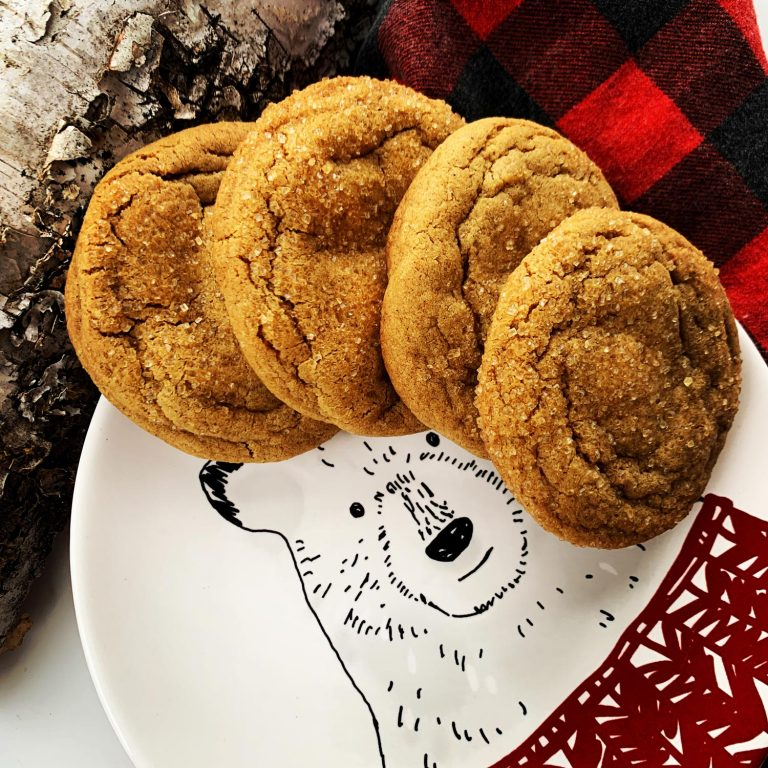 Holiday Ginger Cookies recipe from Gluggable